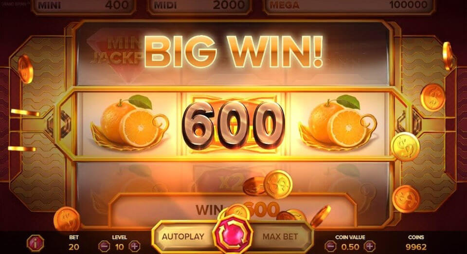 Grand Spinn Superpot netent slot