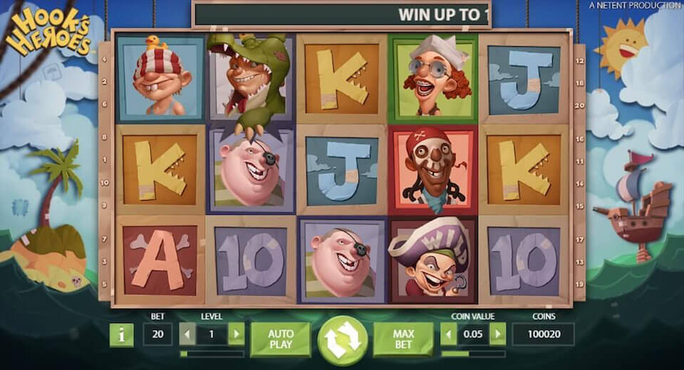 Hook's Heroes slot review