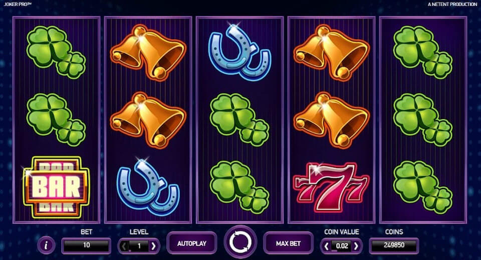Joker Pro game of slot netent