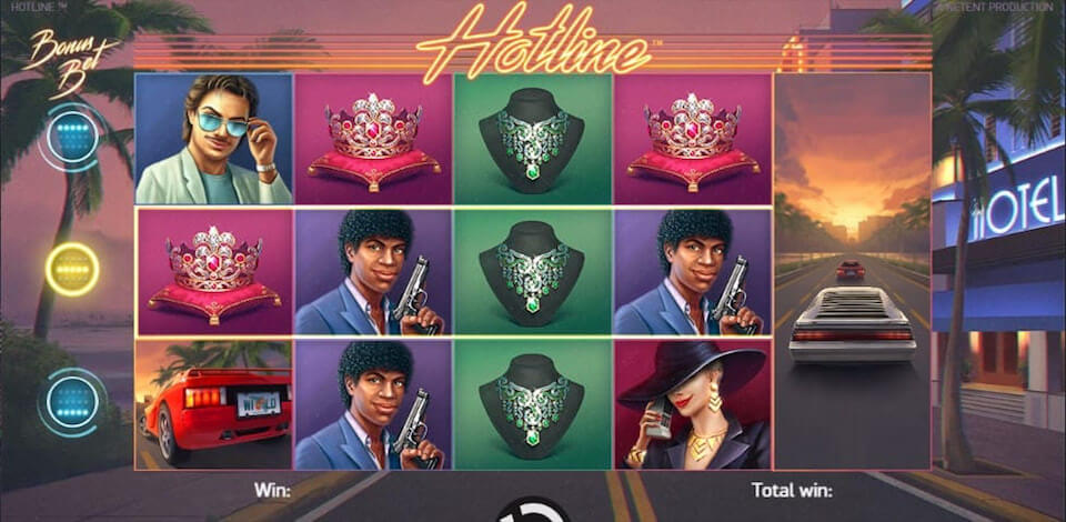hotline free spins