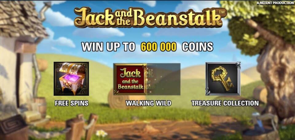 Jack and the beanstalk review slot