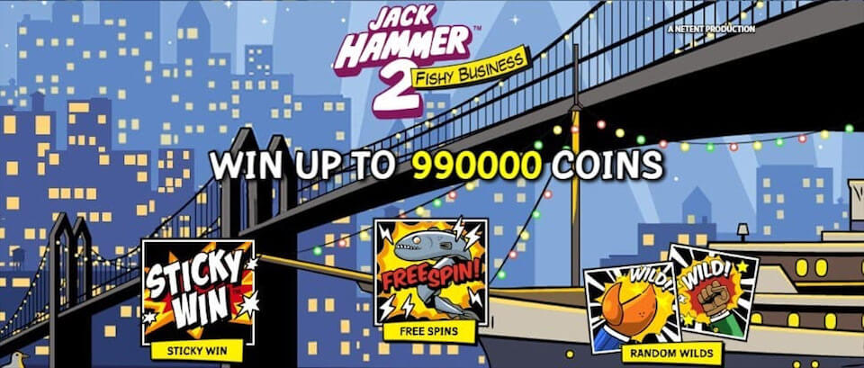 Jack Hammer 2 review slot machines