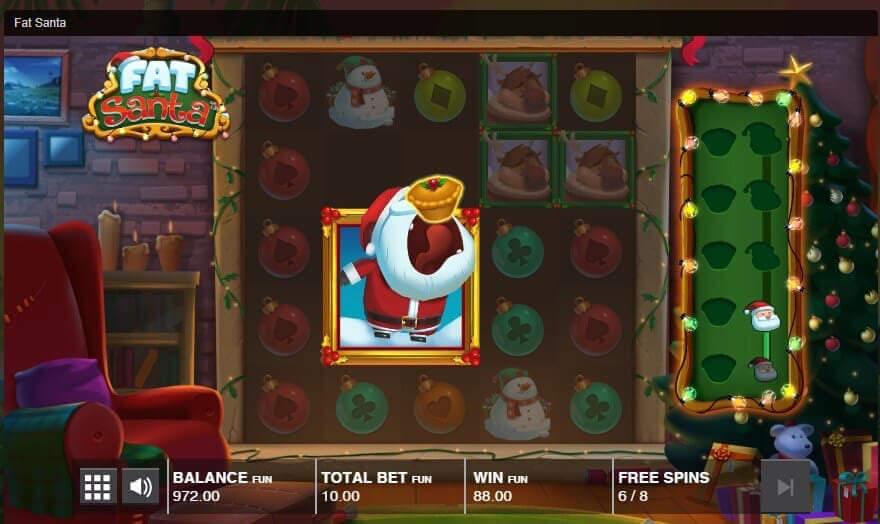 Fat Santa Push Gaming Slot Machine Review Play For Free
