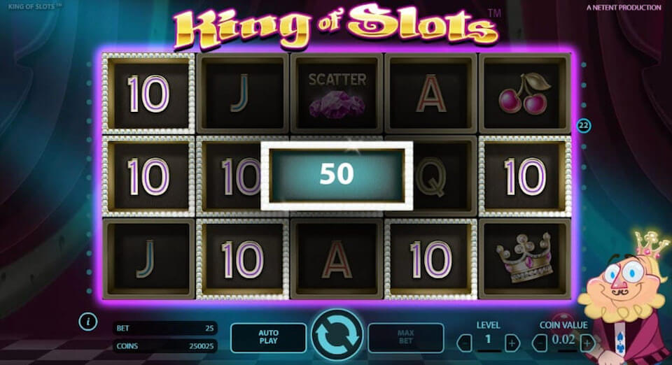 King Of Slots review netent