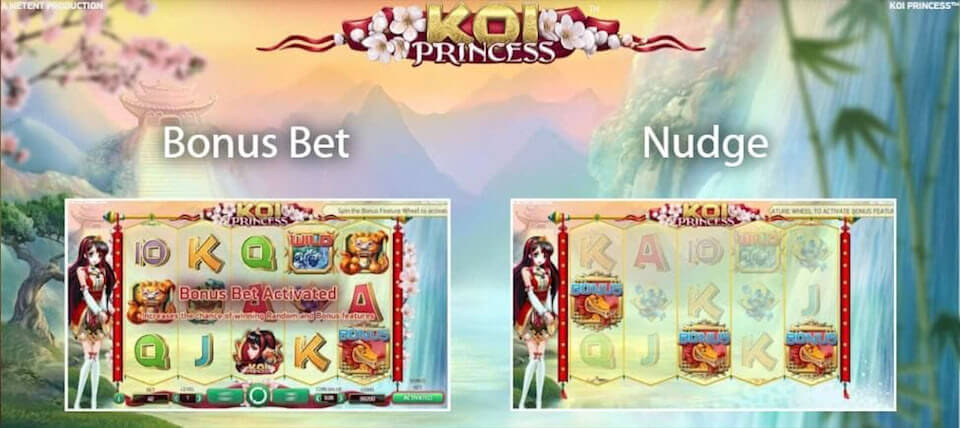 Koi Princess review slot machine