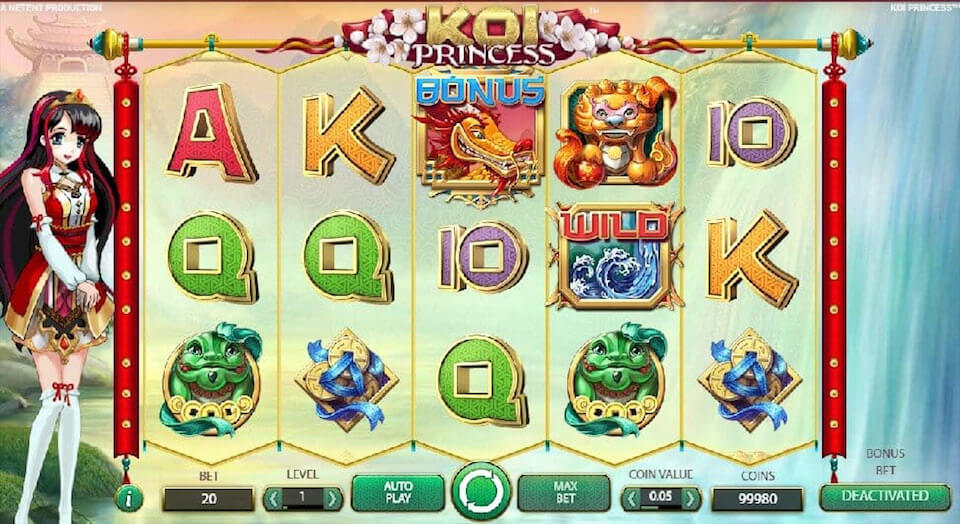 Koi Princess review netent slot
