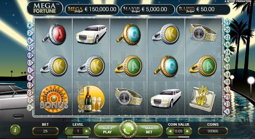 Mega Fortune slot review - play free