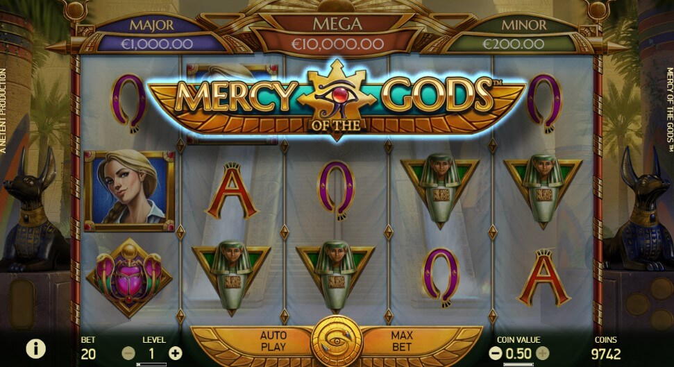 Mercy of the Gods - tragamonedas con jackpot