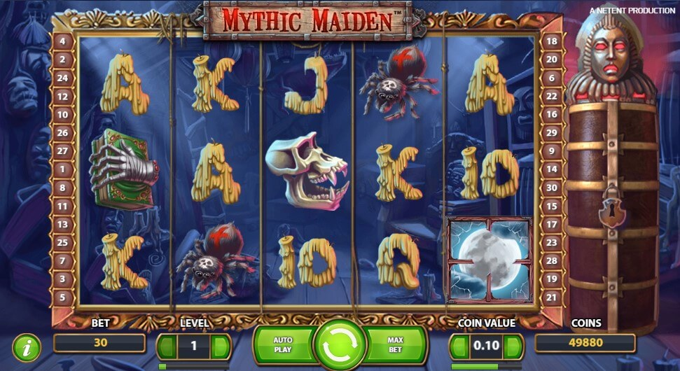 Mythic Maiden play slot