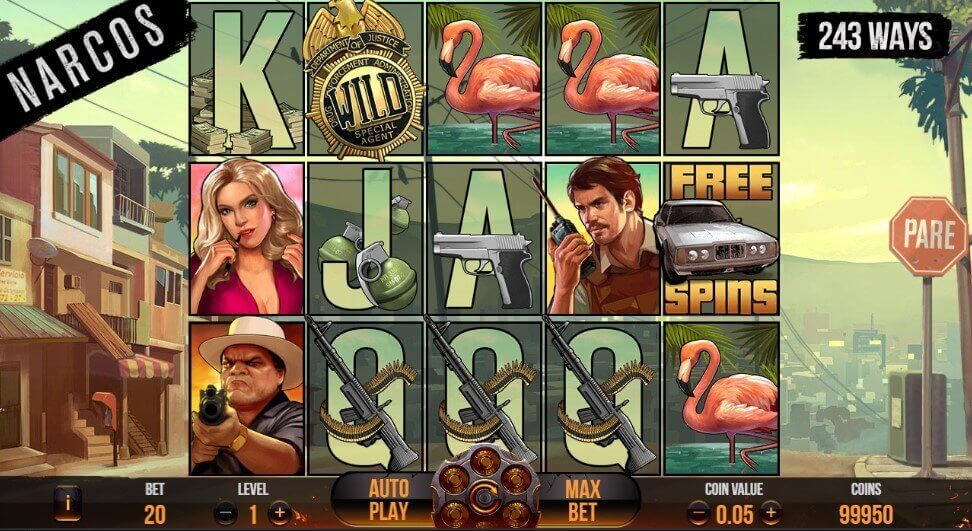Narcos review slot netent