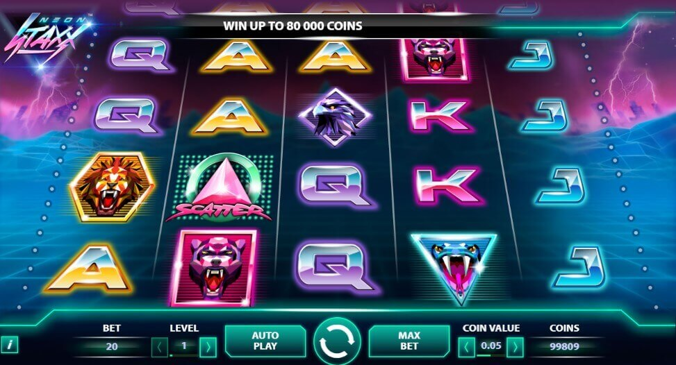 Neon Staxx play slot online