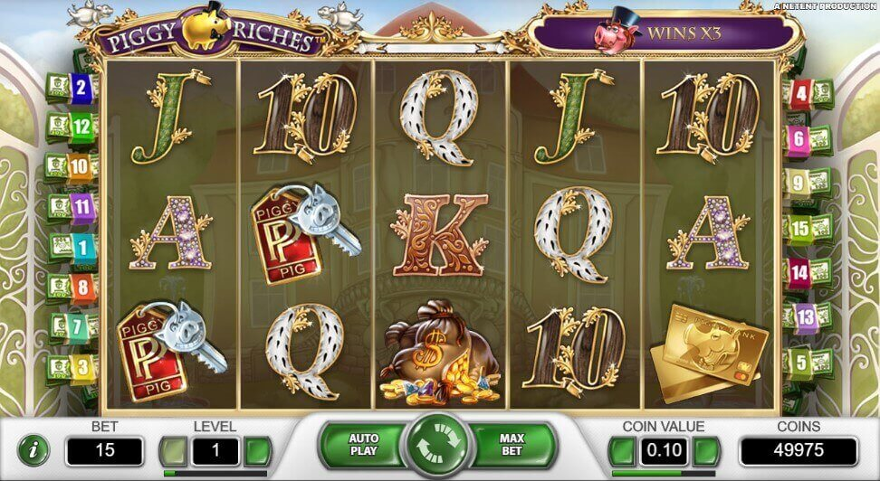 Piggy Riches review slot