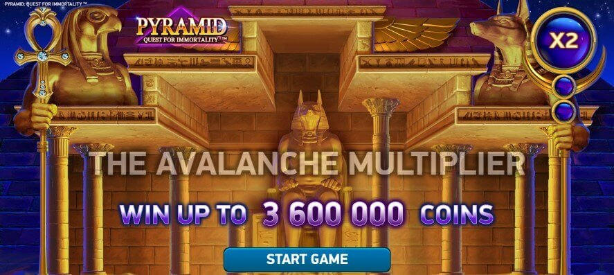 Pyramid: Quest for Immortality pokie netent