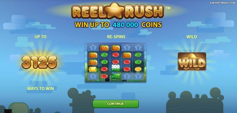 Reel rush pokie review