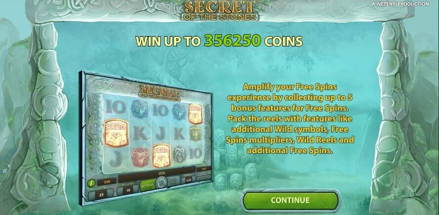 Secret of the Stones review slot