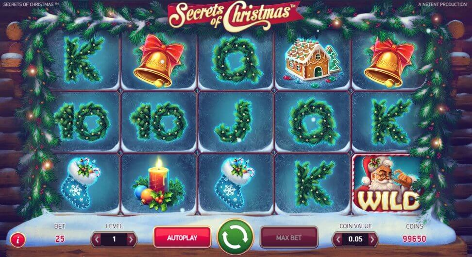 Secrets Of Christmas play game netent slot