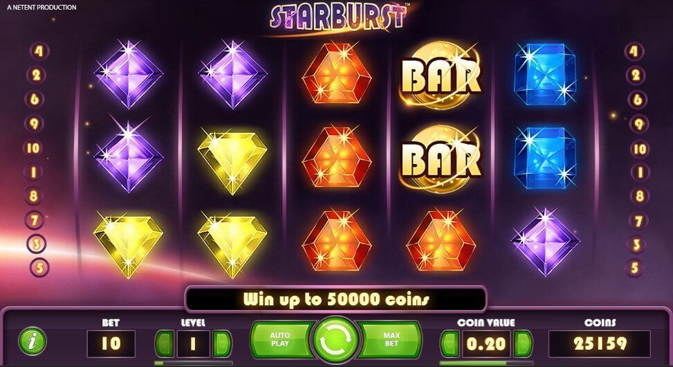 Starburst slot netent - review, play online
