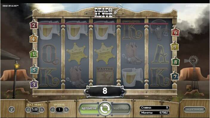 dead or alive slot review netent