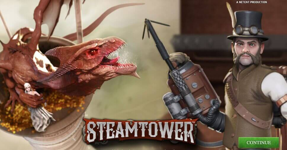 Steam Tower Slot Bewertung
