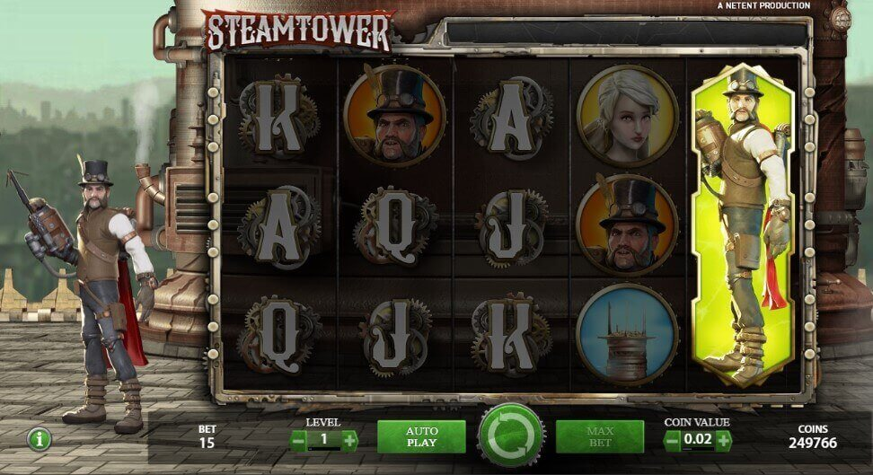 Steam Tower Demo spielen