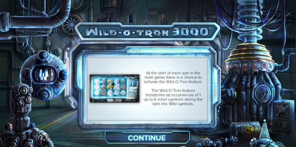 Wild-O-Tron 3000 review pokie