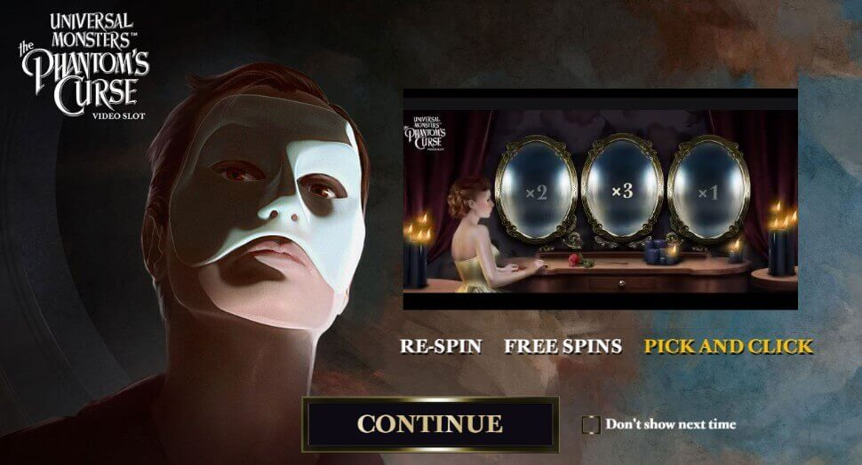 The Phantom's Curse - review, play online