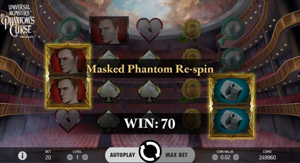 The Phantom's Curse slot netent review
