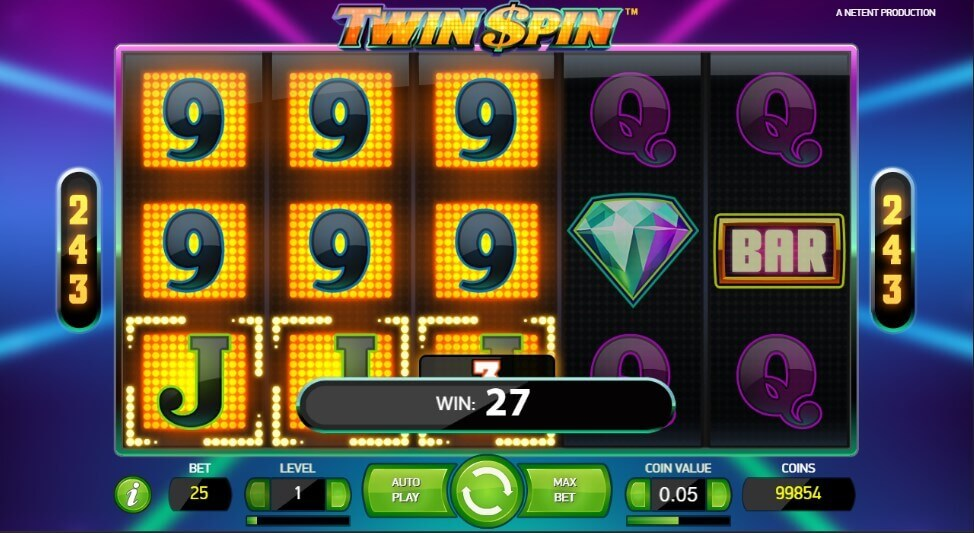 Twin spin slot netent review