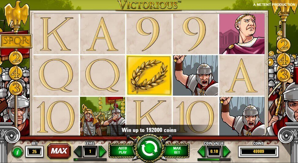 Victorious play demo pokie