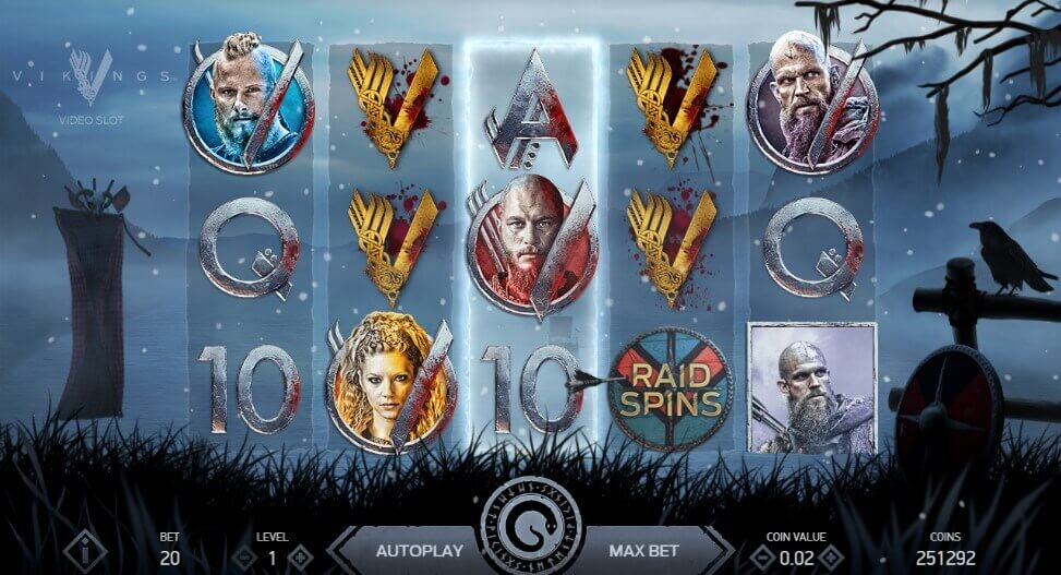Vikings slot machine netent