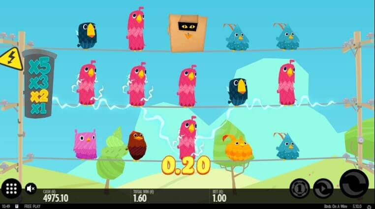 Birds On A Wire - play demo slot