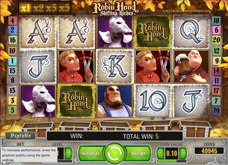 Robin Hood demo slot