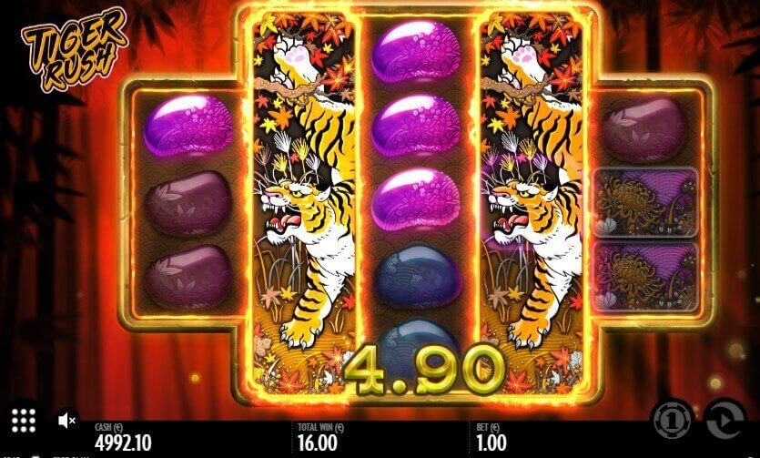 Tiger Rush slot machine review