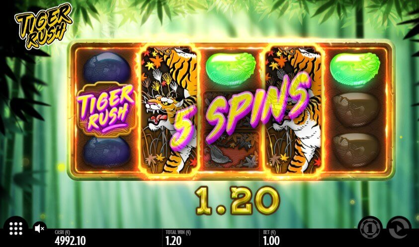 Tiger Rush play demo slot