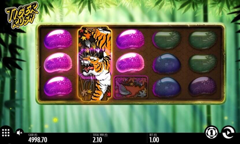 Tiger Rush play slot machine