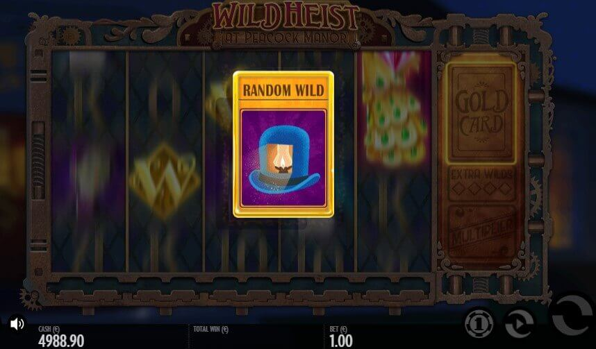 Wild Heist at Peacock Manor slot demo