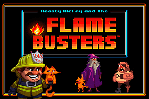 Flame busters thunderkick - play online free