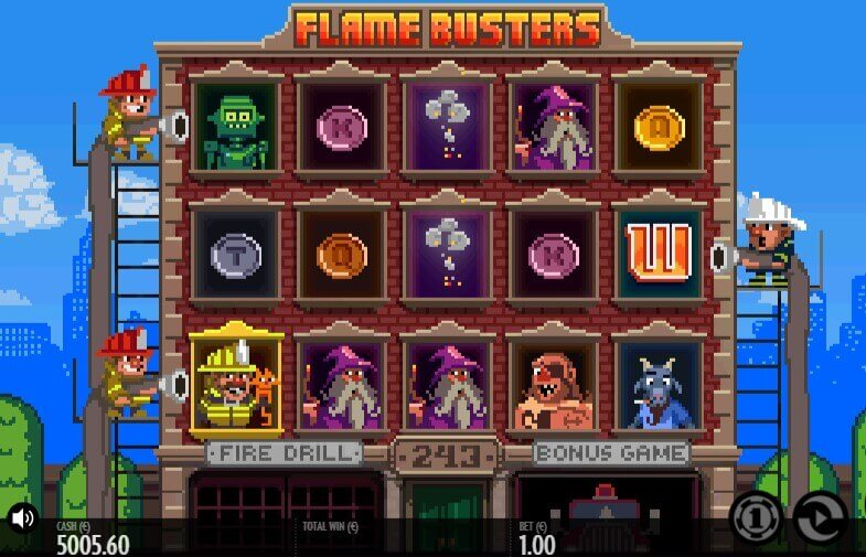 Flame Busters play demo slot