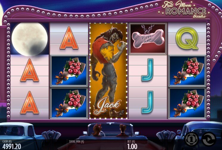 Full Moon Romance pokie review