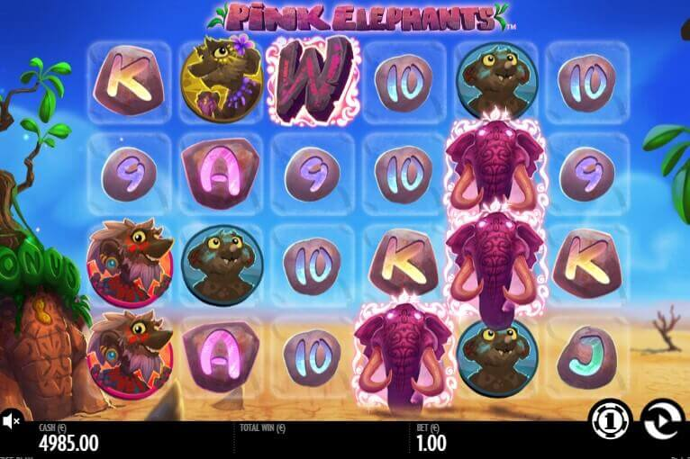Pink Elephants play online free