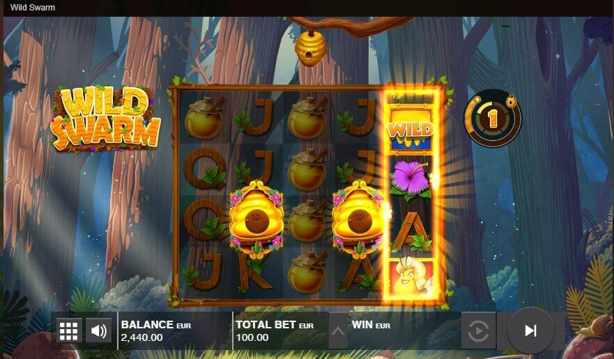 wild swarm - slot review