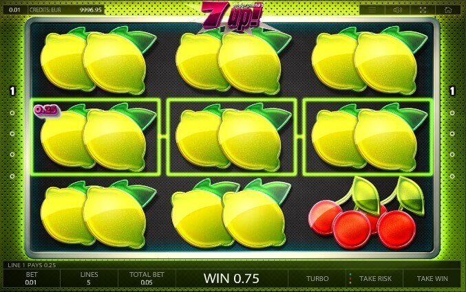 7up! Endorphina automat online
