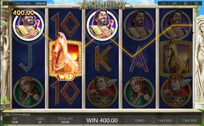Ancient Troy play demo slot