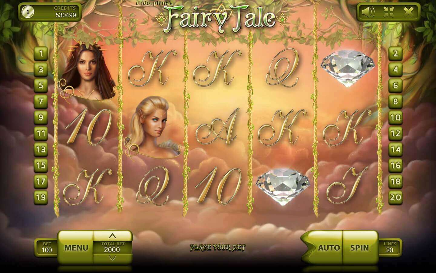 Fairy Tale - play demo slot machine