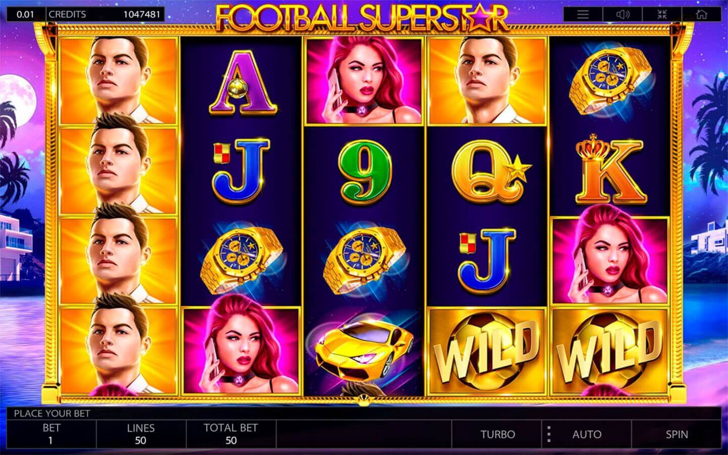 Football Superstar - play demo slot