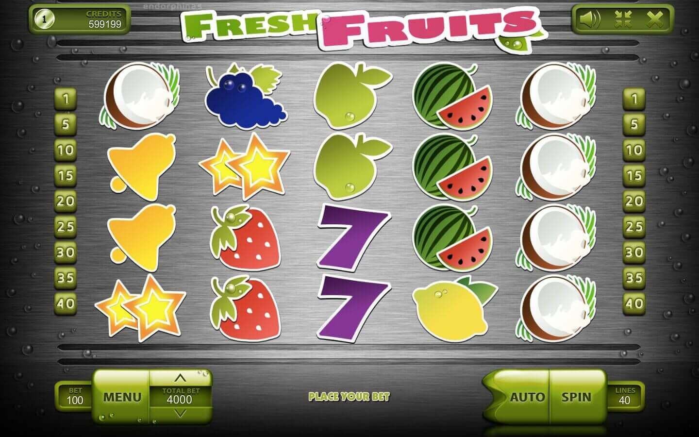 Fresh Fruits - play demo