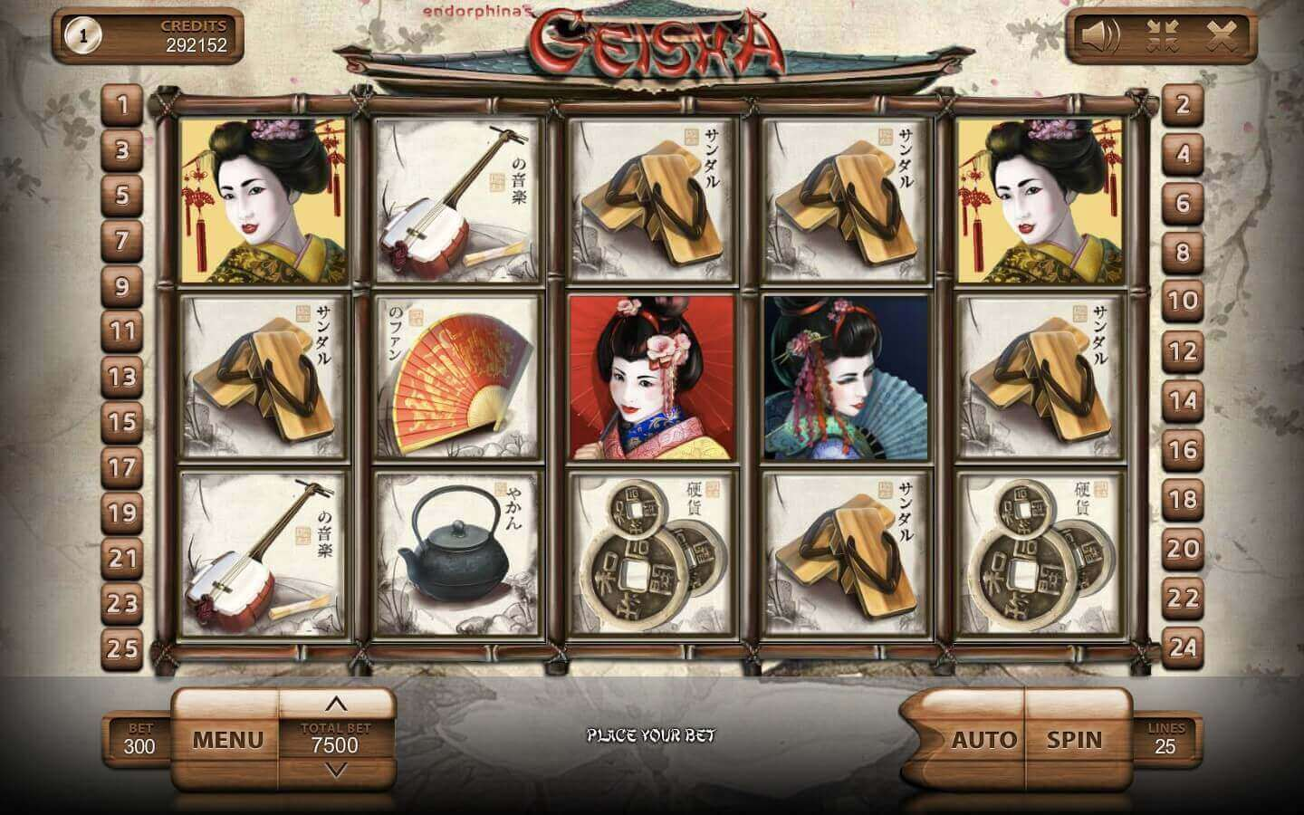 Geisha play free demo slot