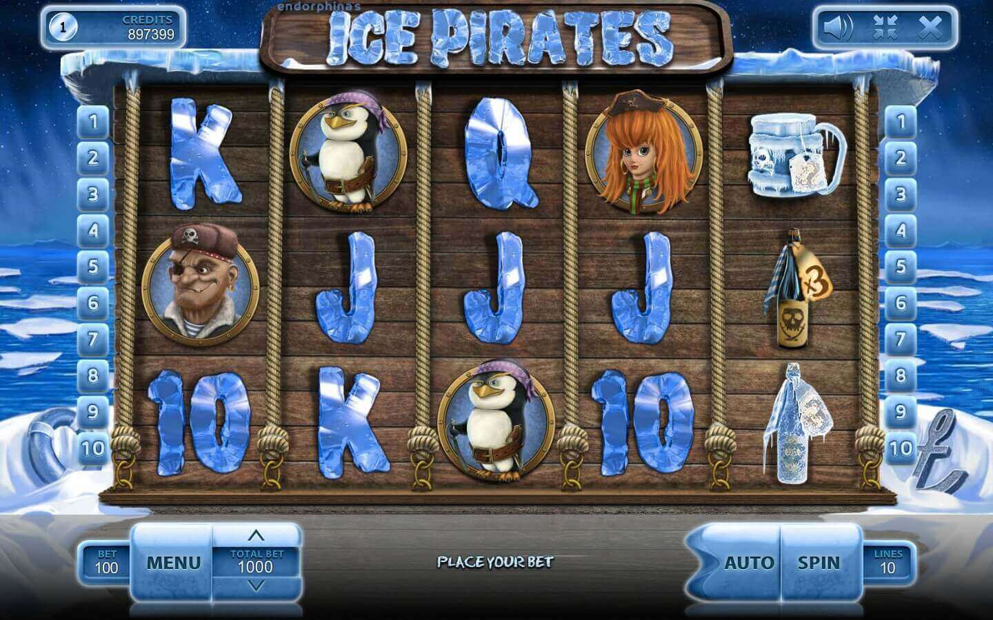 Ice pirates review slot