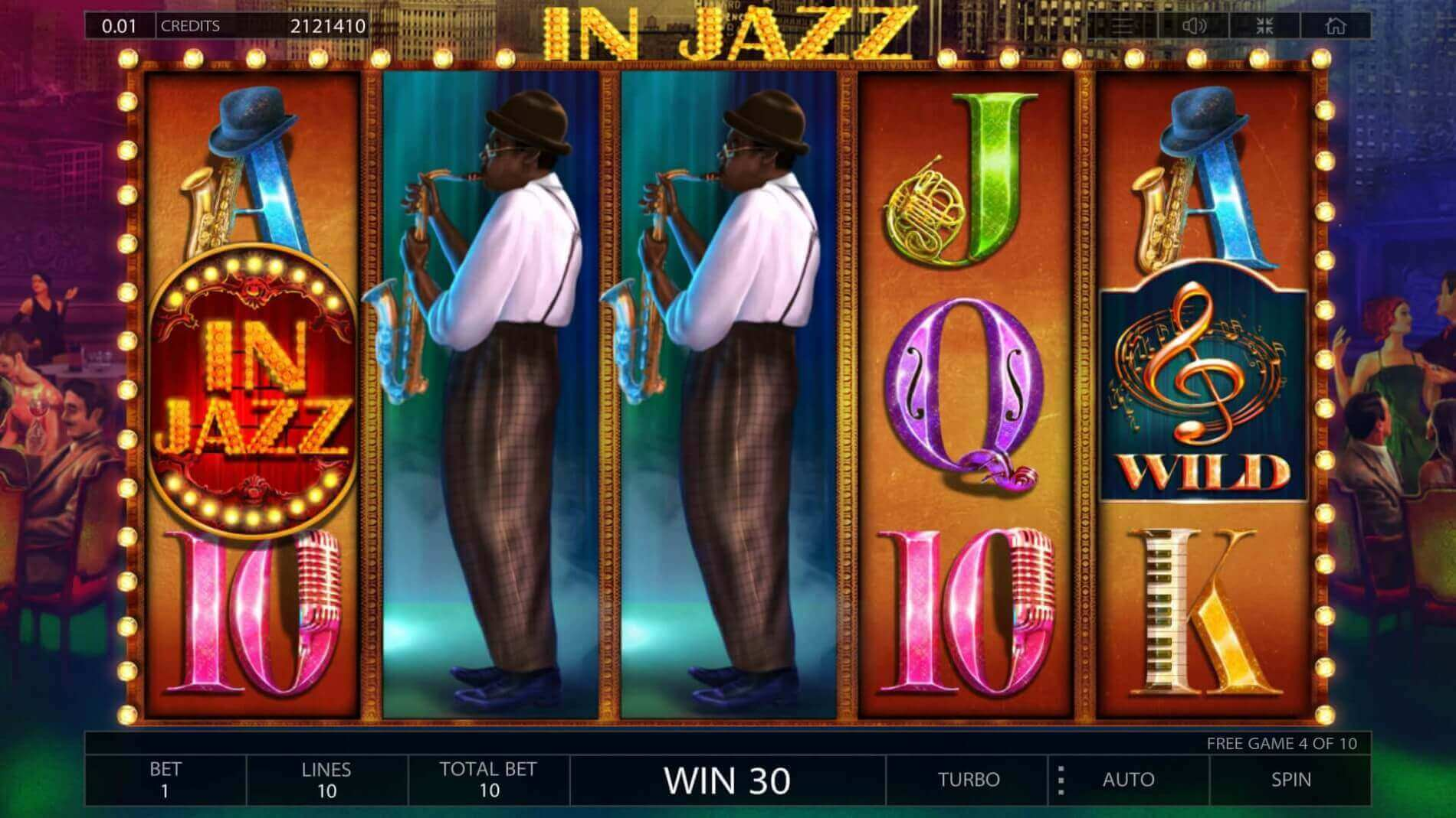 In Jazz play demo slot