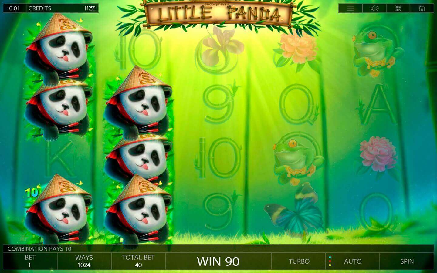 Little panda slot demo